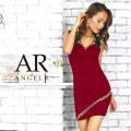 [フラワーモチーフタイトミニドレス]AngelR(エンジェルアール)|AR9337