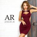 [デコルテストーンビジュータイトミニドレス]AngelR(エンジェルアール)|AR9348