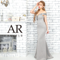 [ビジューデザインオフショルダータイトロングドレス]AngelR(エンジェルアール) AR9824