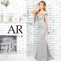[ビジューデザインオフショルダータイトロングドレス]AngelR(エンジェルアール)|AR9824