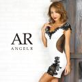 [フラワーレースデザインタイトミニドレス]AngelR(エンジェルアール)|AR9828