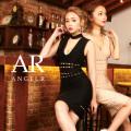 [カッティングデザイン深Vネックタイトミニバンデージドレス]Angel R(エンジェルアール)|AR9902