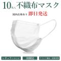 【メール便】マスク 10枚入り 即納 大人用 使い捨てマスク 不織布 3層構造 高密度フィルター