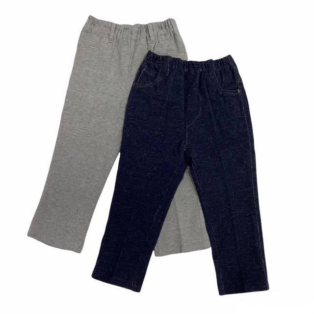 【日本製 子供服】 天竺長パンツ [95~140cm]