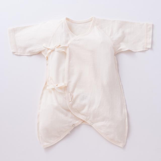 オーガニックコットン100%新生児定番アイテム コンビ肌着