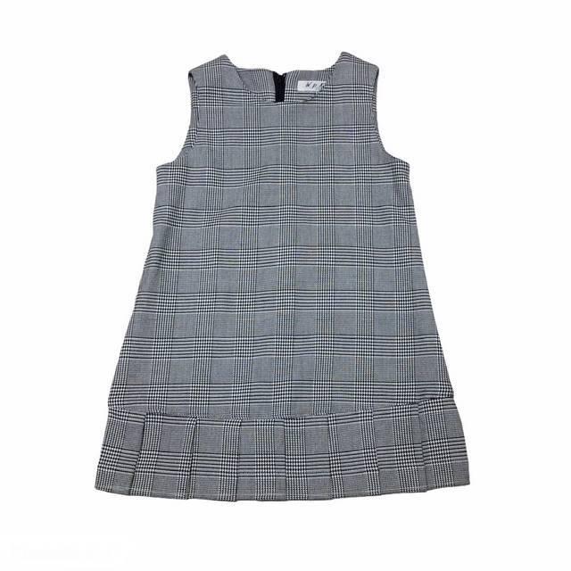 【日本製 子供服】 ジャンパースカート チェック柄 フォーマルにも♪ [100~140cm]