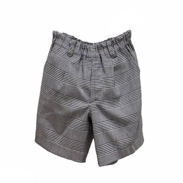 【日本製 子供服】 ハーフパンツ フォーマル チェック柄 [90~140cm]