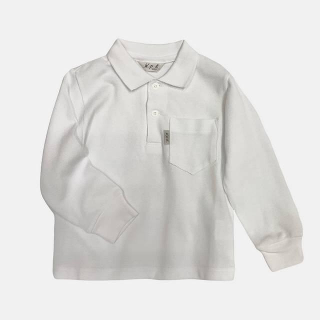 【日本製 子供服】 ポロシャツ 長袖 フォーマル [80~140cm]