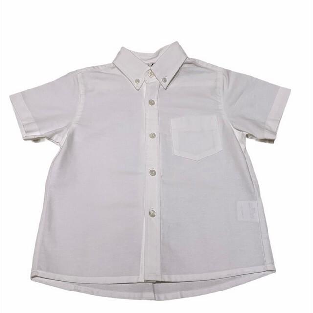 【日本製 子供服】 ボタンダウン シャツ 半袖 フォーマル [80~140cm]