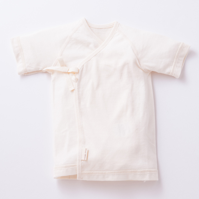 オーガニックコットン100%新生児必須アイテム 短肌着