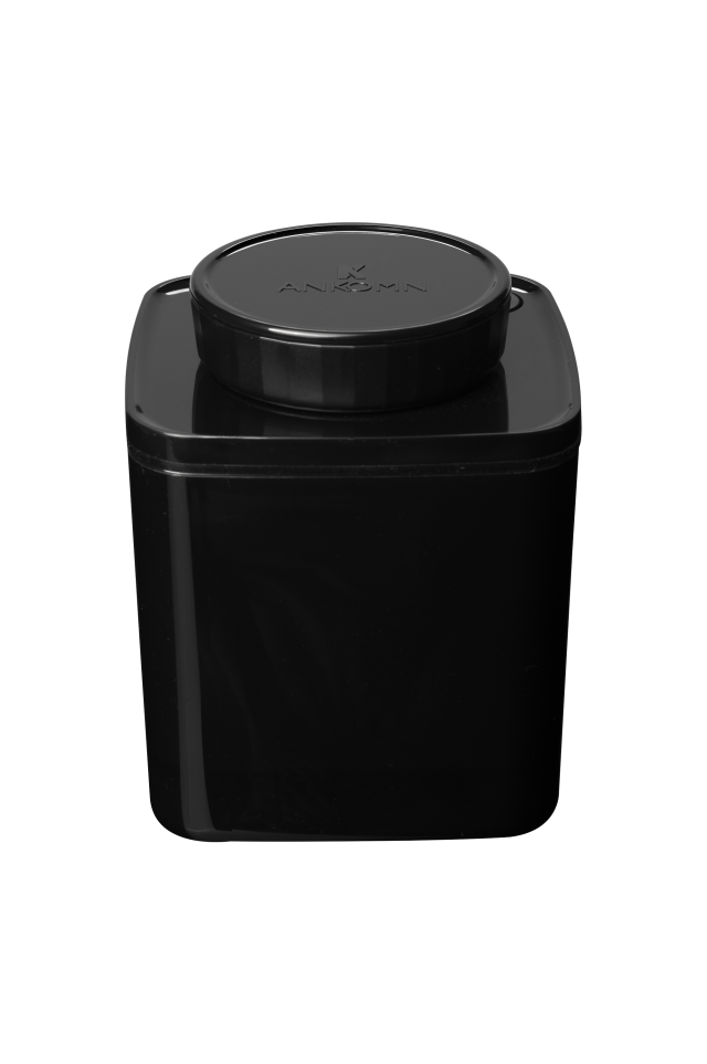 真空保存容器ターンシール_真空保存容器ターンエヌシール_0.6L_ブラック遮光
