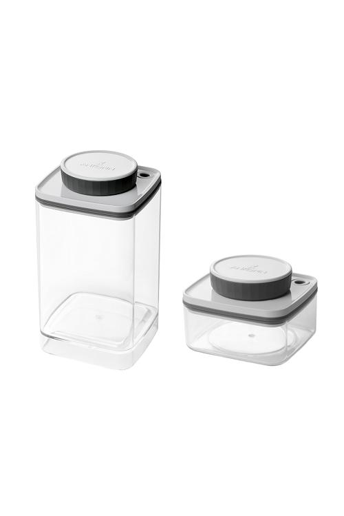 真空保存容器ターンシール0.3Lと真空保存容器ターンシール1.2L