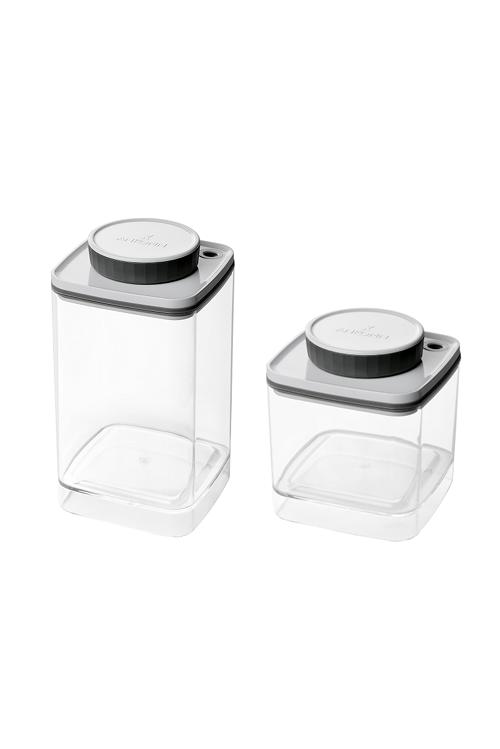 真空保存容器ターンシール0.6Lと真空保存容器ターンシール1.2L