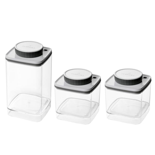 真空保存容器ターンシール(ターンエヌシール)_セット(1.2L×1個と0.6L×2個)