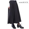 ankoROCKサイドスリットフレアロングスカート