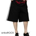 ankoROCK縫合ハーフパンツ -90sスケーター-