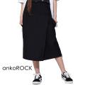 ankoROCKラップスカートハーフパンツ