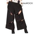 ankoROCKクレイジージップワイドパンツ -メガ-