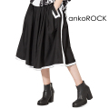 ankoROCKフチドリロングスカート