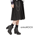 ankoROCKウォレットチェーンロングスカート