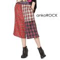 ankoROCKクレイジーチェックハーフパンツ -スーパールーズ-