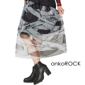 ankoROCK包帯チュールスカート