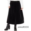 ankoROCKショートファーロングスカート