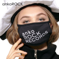 「ankoROCK RECORDS」ロゴマスク