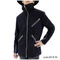 ankoROCKライダース装飾M−65ジャケット