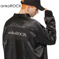 ankoROCKロゴサテンコーチジャケット -スーパービッグ-