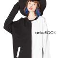 ankoROCK PANDAスウェットブルゾン -ビッグ&スーパーロングスリーブ-
