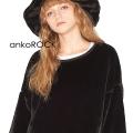 ankoROCK ショートファーセーター -メガビッグ-