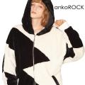 ankoROCK ショートファーキリカエマクリパーカー -スーパービッグ-