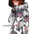 ankoROCK白雪姫ボリュームネックフード中綿ジャケット -スーパービッグ-