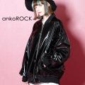 ankoROCK エナメルブルゾン -オーバーサイズ-