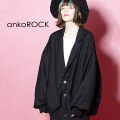 ankoROCK ブルゾンテーラードジャケット -オーバーサイズ-