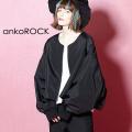 ankoROCK スーパーショートノーカラーブルゾン -オーバーサイズ-
