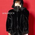 ankoROCK ショートファーボリュームネックブルゾン -オーバーサイズ-