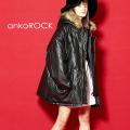 ankoROCK レザーN-3Bジャケット -オーバーサイズ-