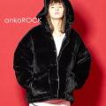 ankoROCK ショートファーボリューム中綿ジャケット -オーバーサイズ-