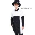 ankoROCKモノスティックボックスシャツ -スーパーロングビッグ-