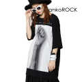ankoROCKリスカ I want your attention!Tシャツ -メガビッグ-