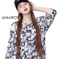 ankoROCK不思議の国のアリスTシャツ エクスクルーシブ -メガビッグ-