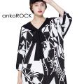 ankoROCK絵画セーラーTシャツ エクスクルーシブ -メガビッグ-