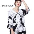 ankoROCKビッグテディベアセーラーTシャツ エクスクルーシブ -メガビッグ-