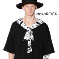 ankoROCK包帯リボンセーラーTシャツ エクスクルーシブ -メガビッグ-
