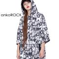 ankoROCK不思議の国のアリス半袖プルオーバーパーカー エクスクルーシブ -スーパービッグ-