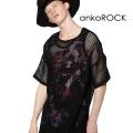 ankoROCKメッシュTシャツ -メガビッグ-