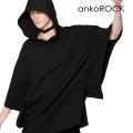 ankoROCKキモノアームフーディーTシャツ -メガビッグ-