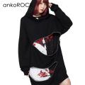 ankoROCK変形オープンジップパーカー -スーパービッグ-